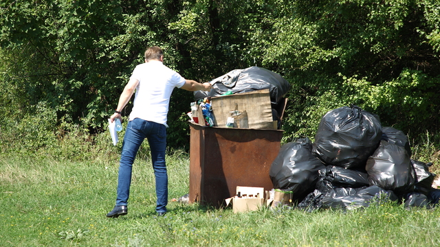 В Калининграде состоится субботник с сортировкой пластикового мусора