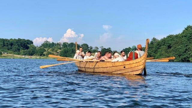 Калининградцы отправятся в первый поход на драккаре, построенном по технологии X века (фото, видео)