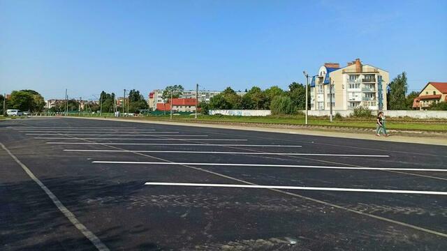 На въезде в Зеленоградск обустроили стоянку для туристических автобусов (фото)