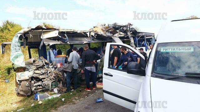 Смертельная авария с рейсовым автобусом под Янтарным