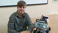 Школьник из Советска смастерил машину для выдувания мыльных пузырей и провёл несколько экспериментов