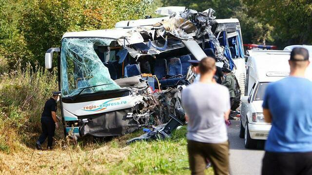 В какие ДТП попадал транспорт перевозчика, автобус которого столкнулся с песковозом под Круглово