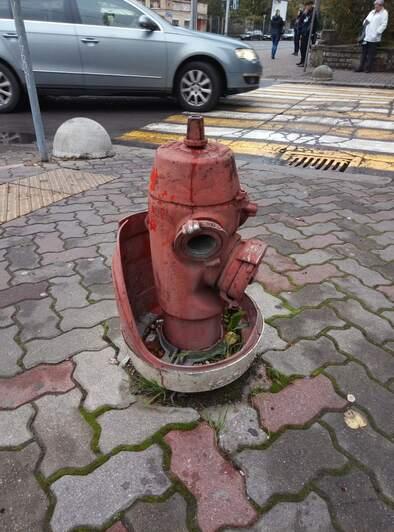 На фото: пожарный гидрант Герман Гостиный | Фото представила Инга