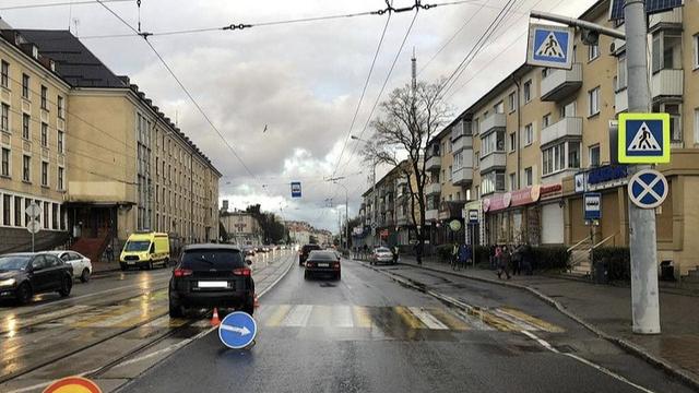 В Калининграде за сутки сбили четырёх пешеходов