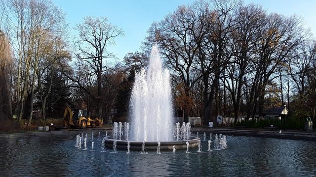 В Калининградском зоопарке после капремонта запустили центральный фонтан