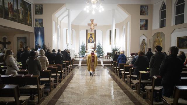 В Калининграде католики отмечают Рождество: фоторепортаж