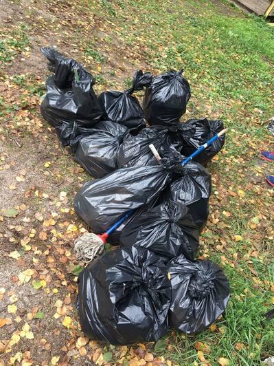 Уборка мусора на Куршской косе | Фото: Вита Плавшич
