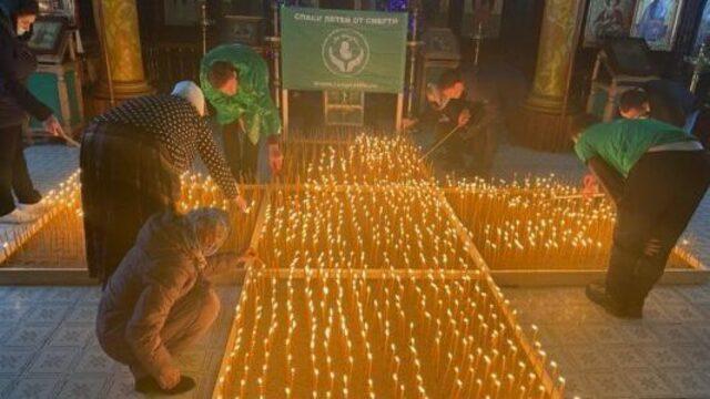 В Советске зажгли 2000 свечей в память о нерождённых из-за абортов детях