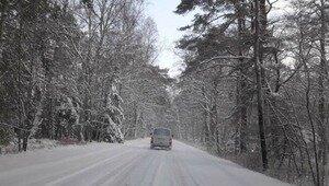 Автомобилисты показали, как в метель выглядят калининградские дороги (фото, видео)