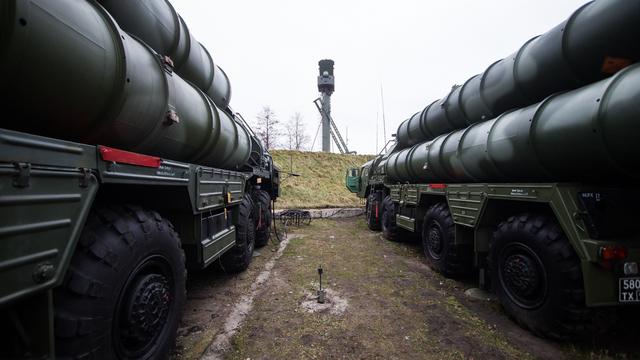 В Калининградской области проходят учения подразделений ПВО Балтфлота