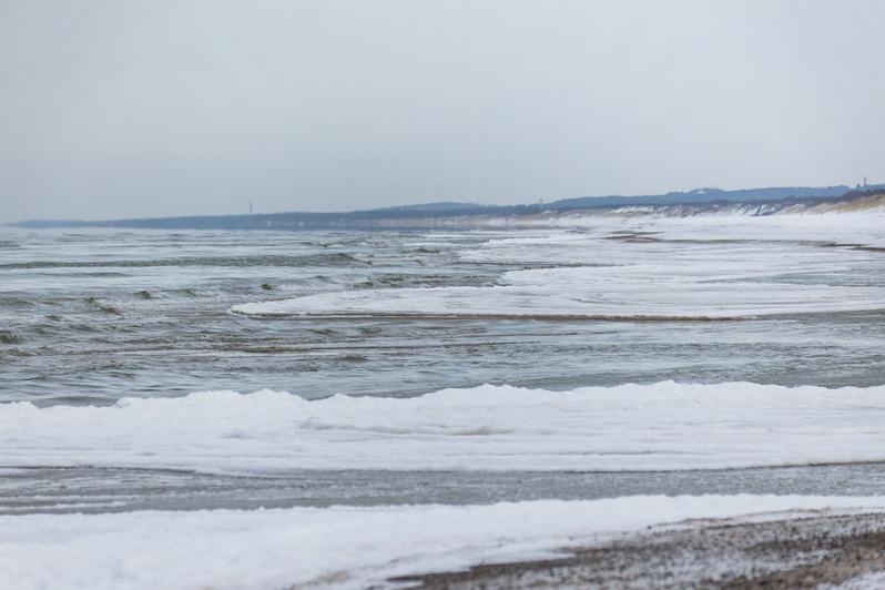 В Калининградской области замерзает море (фото) - Новости Калининграда | Александр Подгорчук