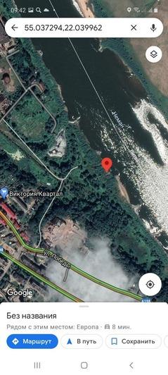 """На фото полынья, где предположительно исчез мальчик   Фото: ПСО """"Запад"""""""