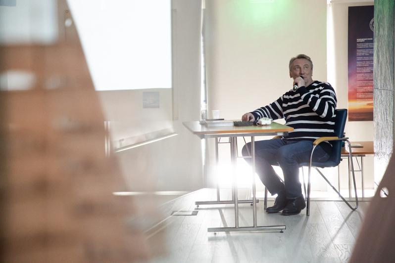 "Мастер-класс с Валерием Василевским | Фото: Александр Подгорчук / ""Клопс"""