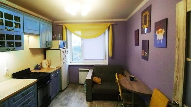 Калининградка сделала ремонт в кухне, как у Моники из сериала