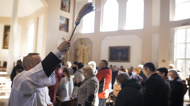В Калининграде католики отметили Пасху (фоторепортаж)