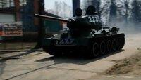 """Танк Т-34 и """"Катюшу"""" начали готовить к Параду Победы в Калининграде (видео)"""
