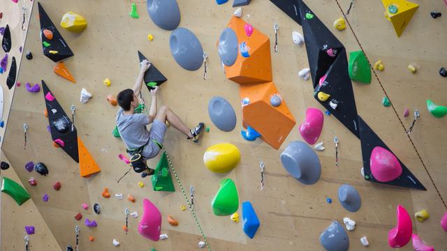 В Калининграде открыли скалодром для проведения международных соревнований (фото)