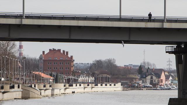 Очевидцы: в Калининграде со второй эстакады в Преголю прыгнул мужчина и не выплыл