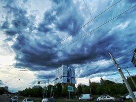 Фото дня: над Калининградом сгустились тучи