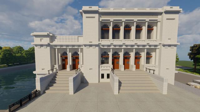 Швейцарец воссоздал здание калининградского музея изобразительных искусств в Minecraft