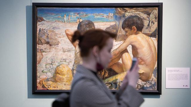 37 работ Левитана, Коровина, Айвазовского: в Калининграде открыли выставку «Русские за границей»