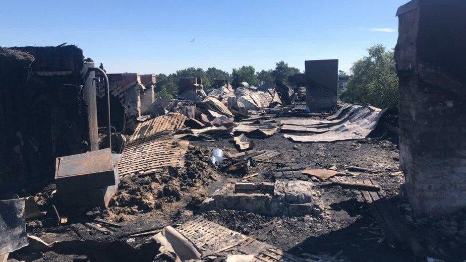 Крыша дома после пожара   Фото: предоставил Владимир Бондаренко