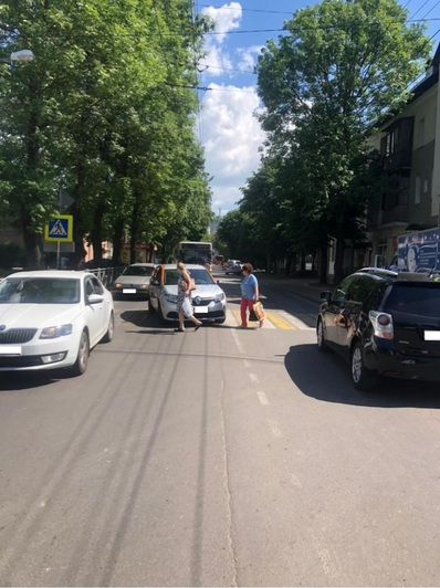 В Калининграде на пешеходном переходе сбили 69-летнюю женщину - Новости Калининграда | Фото: пресс-служба УМВД России по Калининградской области
