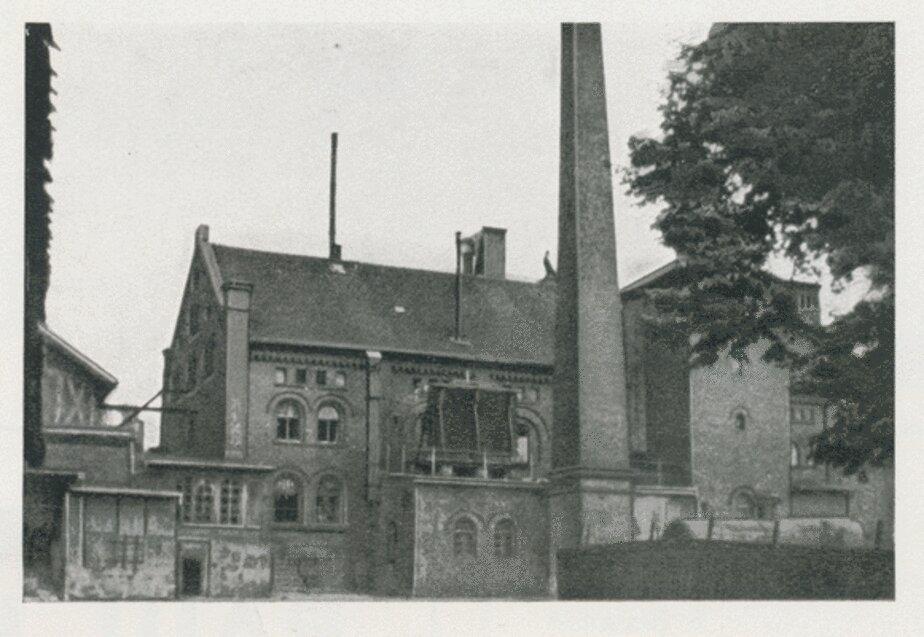 Довоенное здание пивзавода в Лабиау | Фото: Bildarchiv