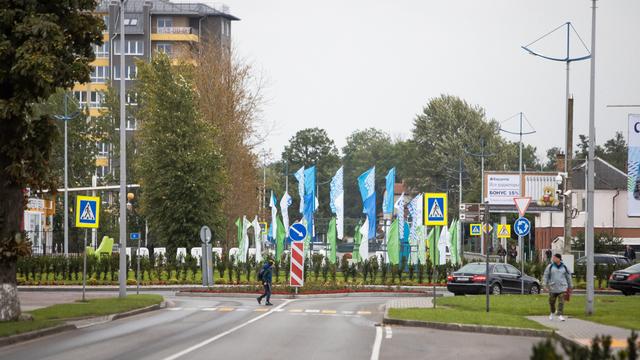 В Зеленоградске планируют ввести одностороннее движение на дороге в сторону Куршской косы