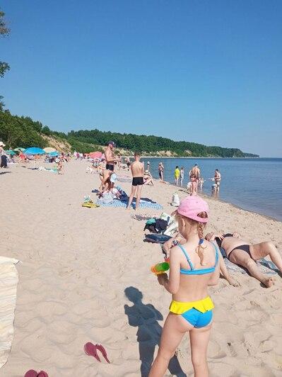 Пляж в Куликово | Фото очевидца