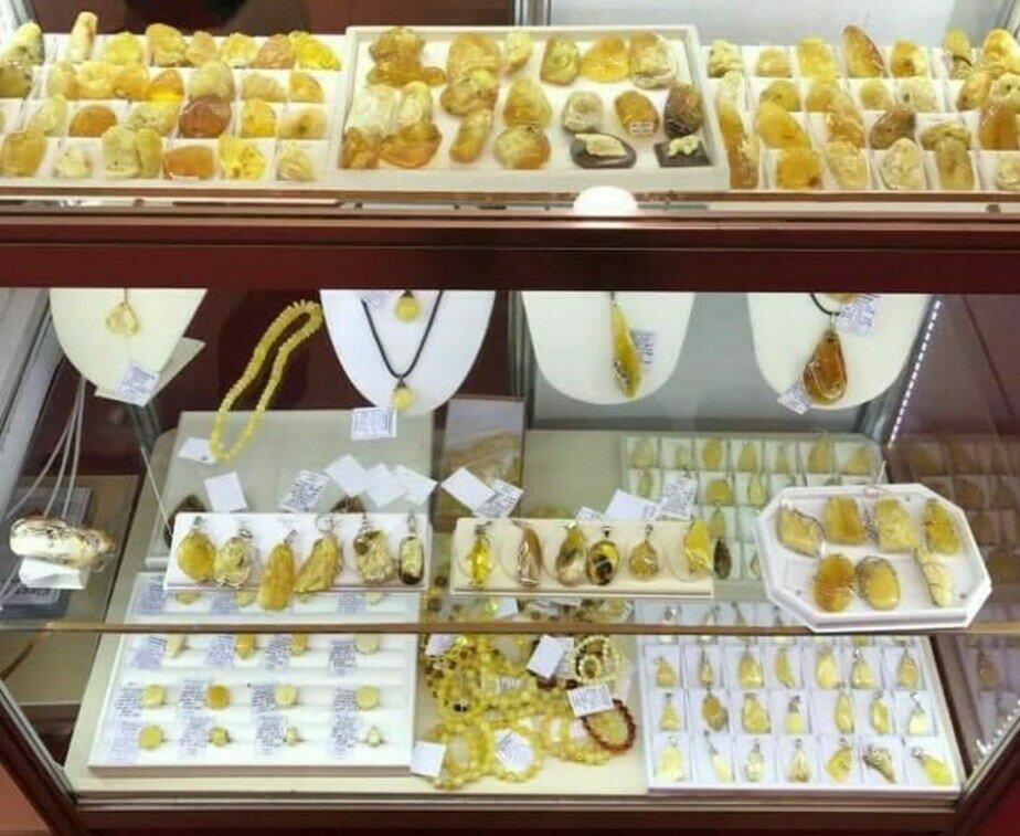 Из магазина изъяли более 40 кг янтаря | Фото: предоставлено пострадавшими по уголовному делу