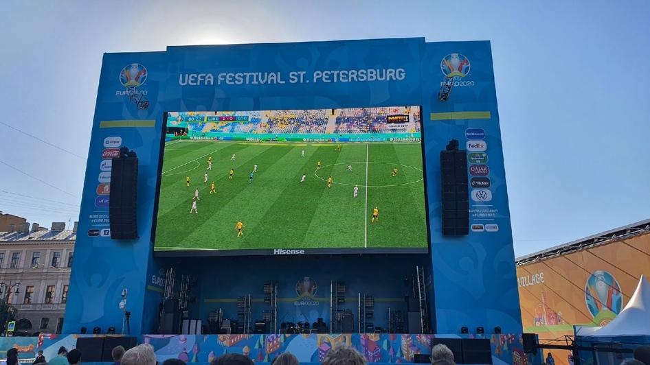 Совсем не так, как на ЧМ-2018: калининградцы рассказали о своих впечатлениях от матчей Евро-2020 в Питере - Новости Калининграда   Фото читателя