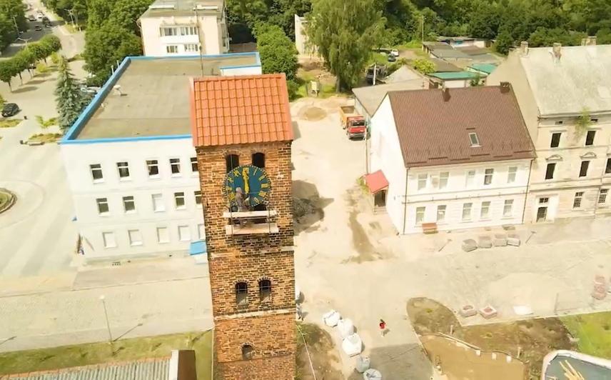 В Немане на башне средневекового замка Рагнит установили часы с боем (фото) - Новости Калининграда   Фото: Артём Поплавский