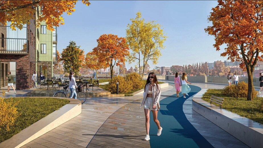 Много зелени и мест для отдыха: как будет выглядеть новая территория Рыбной деревни - Новости Калининграда