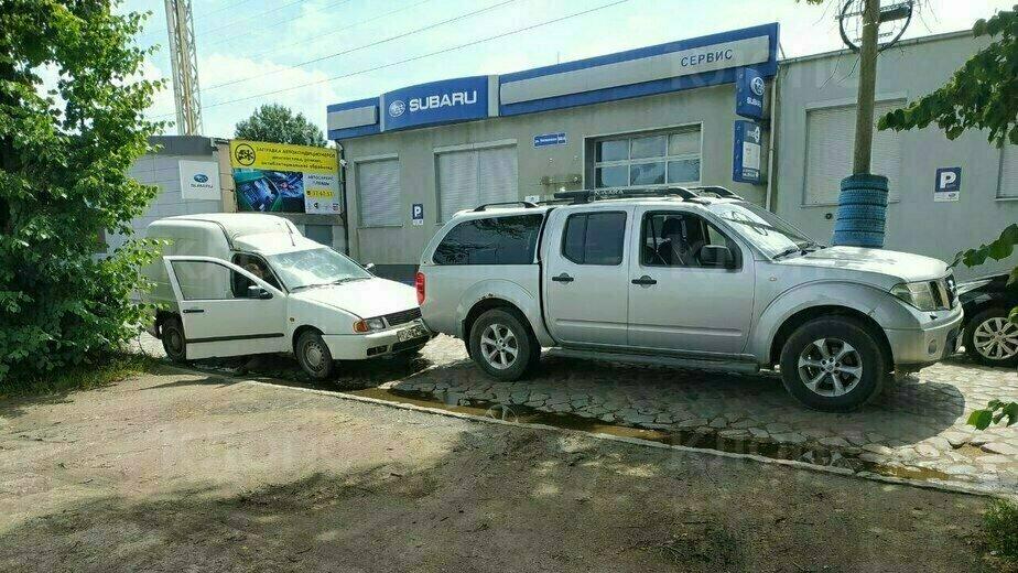 Очевидец: на Ялтинской водитель без прав врезался в попутную машину (фото) - Новости Калининграда | Фото очевидца