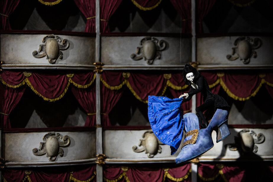 Элемент выставки «Город Гофмана. Тайны двух миров» в Музее изобразительных искусств   Фото: архив «Клопс»