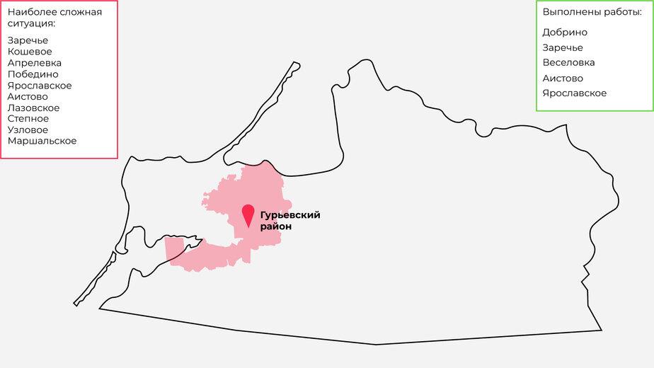 54 гектара обработали, осталось 70 га: где в Гурьевском районе самая сложная ситуация с борщевиком (карта) - Новости Калининграда