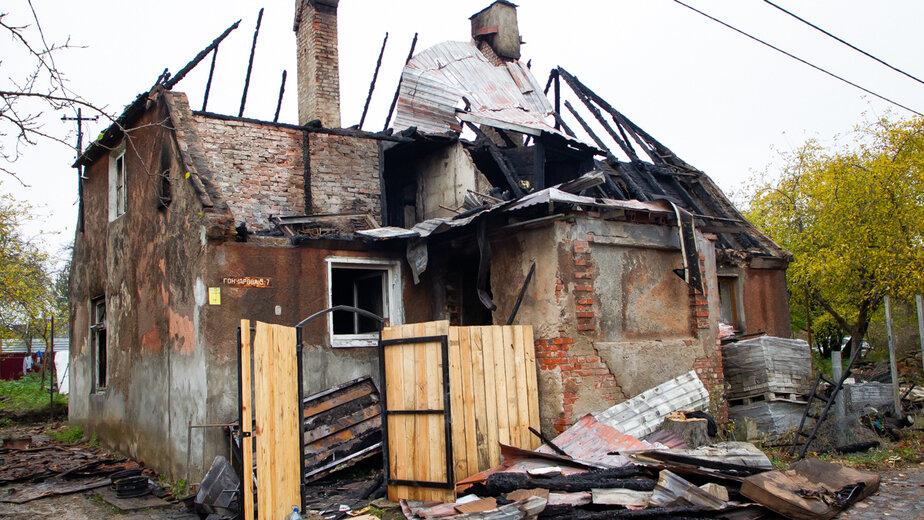 На фото: место трагедии | Фото: Александр Подгорчук / «Клопс»