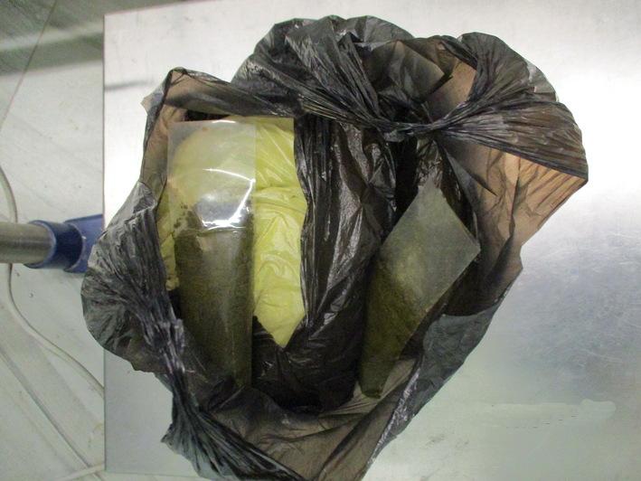 В Калининградскую область из Таджикистана пытались ввести почти 60 кг насвая, спрятанного в бутылках и пакетах  (фото) - Новости Калининграда   Фото: Калининградская областная таможня