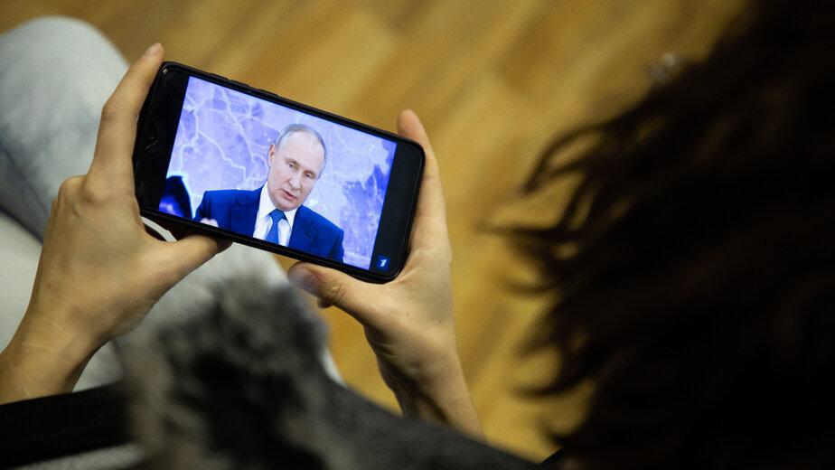 Путин рекомендовал губернаторам минимум раз в год проводить прямую линию с жителями - Новости Калининграда   Фото: архив «Клопс»