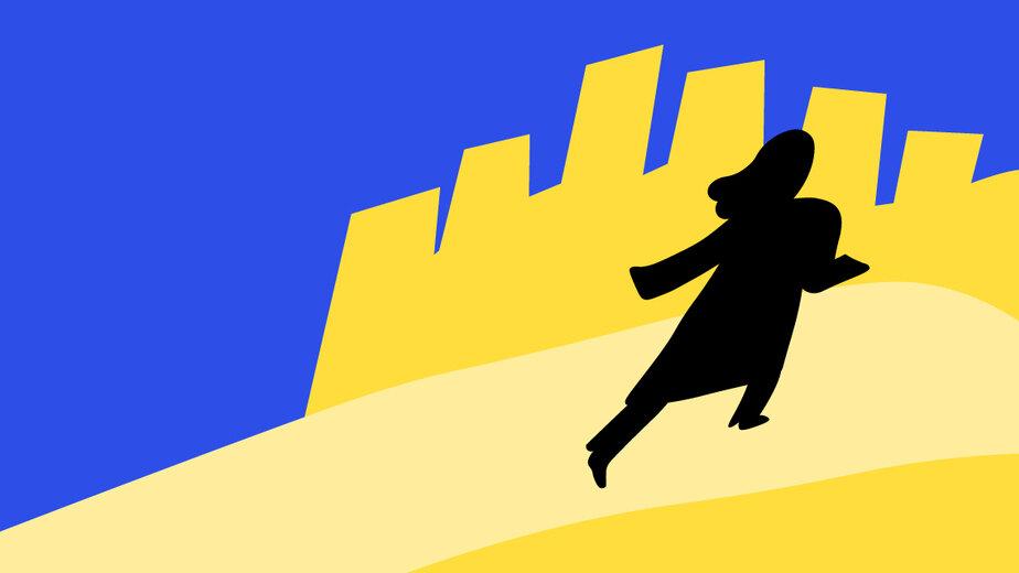 Пошёл проводить мальчика, оказавшегося девочкой: как в Калининграде искали девятилетнего школьника - Новости Калининграда | Иллюстрация: Евгения Будадина / «Клопс»