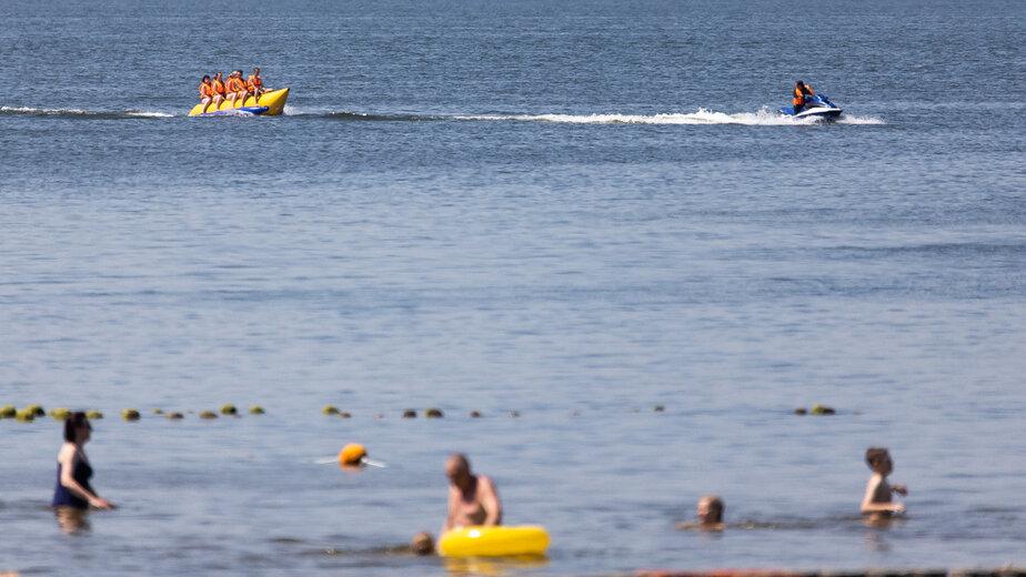 Синоптики назвали температуру воды у калининградского побережья Балтийского моря - Новости Калининграда | Архив «Клопс»