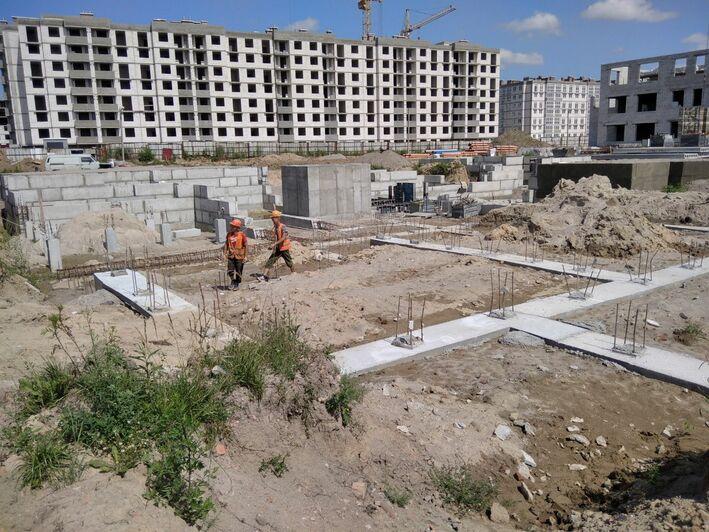 В Калининграде строительство двух детских садов и школы идёт с отставанием по срокам