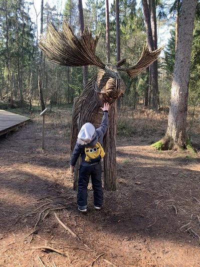 В калининградском парке появились плетёные улитки в человеческий рост (фото) - Новости Калининграда   Фото: Архив «Клопс»