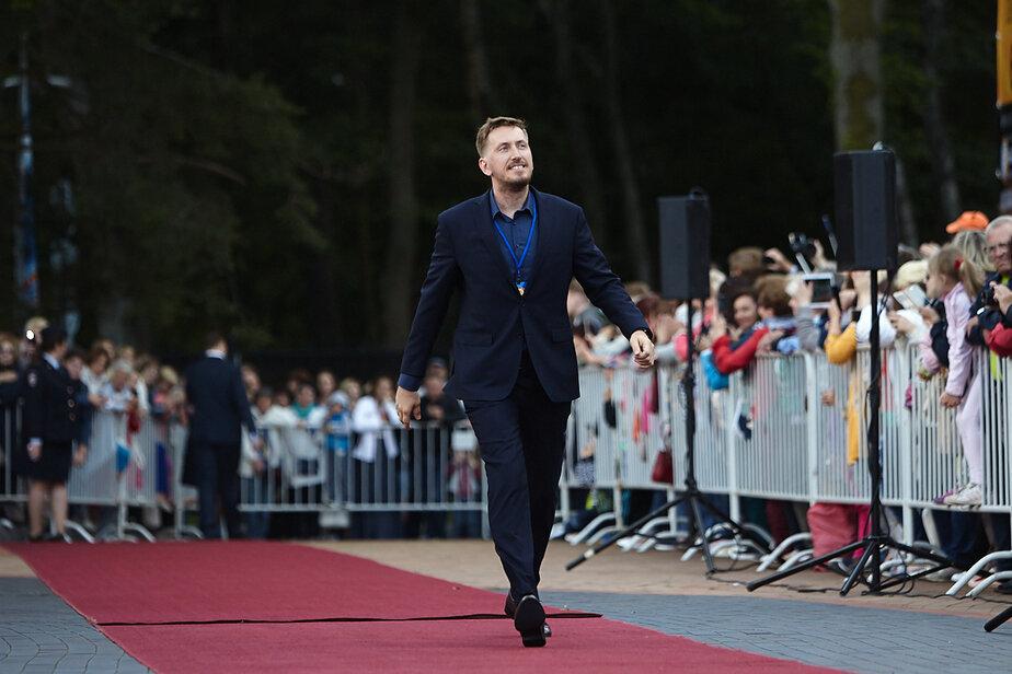 Актёр Кирилл Кяро на красной дорожке «Балтийских дебютов» в 2017 году   Фото: архив «Клопс»