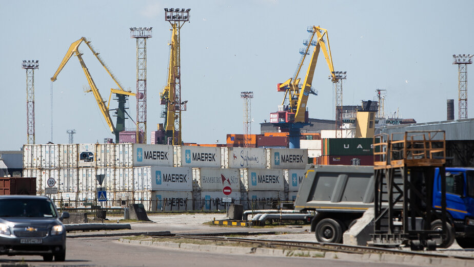 Грузоборот калининградского морского порта с начала года вырос на 5% - Новости Калининграда   Фото: Александр Подгорчук