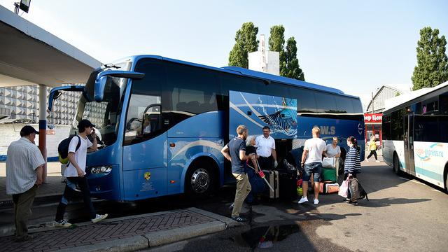 В Калининград прибыл первый после закрытия границ пассажирский автобус из Германии