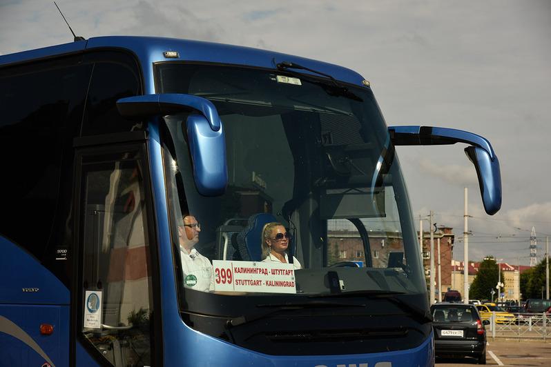В Калининград прибыл первый после закрытия границ пассажирский автобус из Германии - Новости Калининграда | Фото: ООО «Кёниг Тревел»