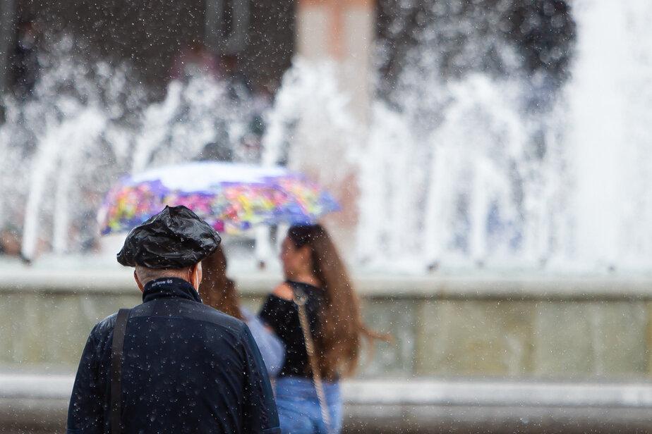 Фото дня: дождливый Калининград - Новости Калининграда | Александр Подгорчук / «Клопс»