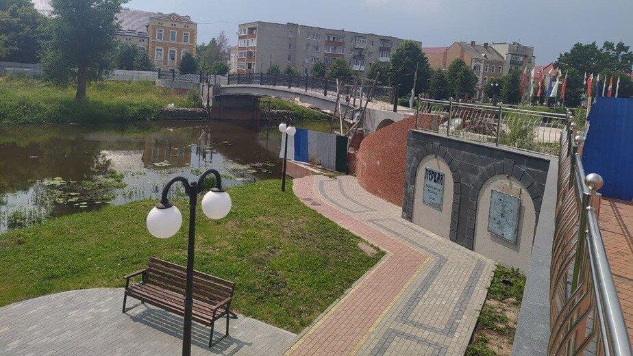 В Гусеве опять не смогли найти подрядчика для достройки пешеходного моста - Новости Калининграда   Фото «Клопс»